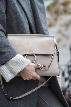 motty grey Chloe Faye bag