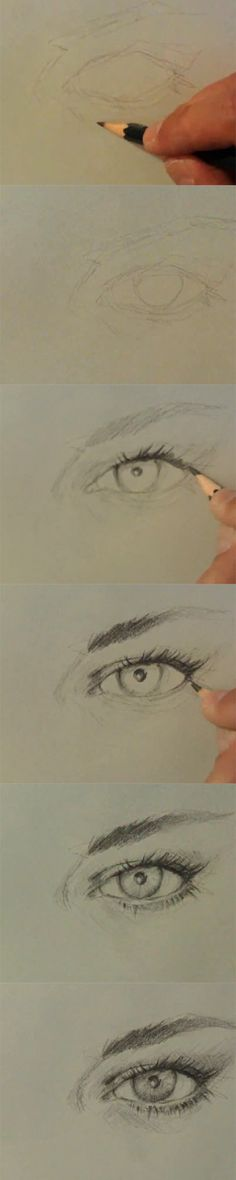 how to #draw realistic #eye