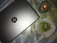Candle, frozen grapes and netflix🌵