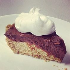 Double Layer Chocolate Peanut Butter Pie - Allrecipes.com