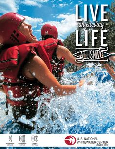 U.S. National Whitewater Center Ads | Mint By Laura #mywork