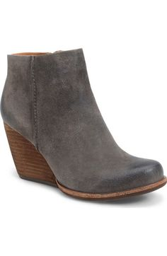 c969db6d8a74 Kork-Ease®  Natalya  Burnished Leather Demi Wedge Boot (Women) available