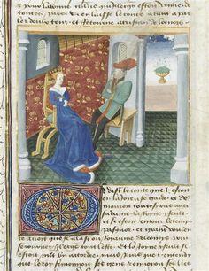 Roman de Tristan Maître de Charles du Maine (15e siècle) ,  enlumineur  COTE CLICHÉ06-514438N° D'INVENTAIREMs648-folio430versoFONDSMiniatures Et EnluminuresDESCRIPTION:1440-1460