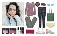 """""""Soft Summer #2"""" by sonia-yuno ❤ liked on Polyvore featuring Aerie, Siwy, Vivienne Westwood Red Label, Kate Sheridan, NARS Cosmetics, Loeffler Randall, La Perla, Sunday Somewhere, Kate Spade and softsummer"""