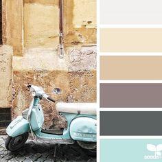 Wat is het toch altijd weer genieten van de prachtige kleur collages van Jessica Colaluca van @designseeds. Neem zeker ook eens een kijkje op haar prachtige en vooral kleurrijke account
