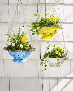 Hanging Planters - Home Made Modern