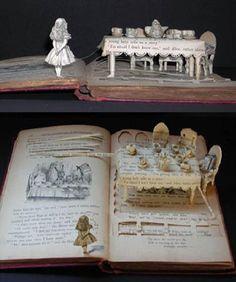 Artist books - Alice in Wonderland