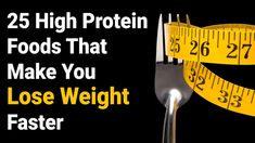 25 High Protein Foods That Make You Lose Weight Faster Best Protein, Rich In Protein, High Protein Recipes, Protein Foods, Healthy Foods, Healthy Tips, Protein Power, Protein Smoothies, Protein Sources