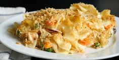 Casserole Recipes, Pasta Recipes, Chicken Noodle Casserole, Can Of Soup, Potato Salad, Mashed Potatoes, Macaroni And Cheese, Noodles, Nutrition