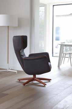 First Class relax-fauteuil, een ontwerp van Gerard van den Berg voor Label www.meijerwonen.nl www.label.nl