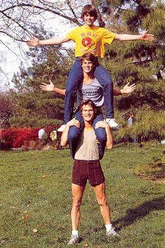 Patrick Swayze, Rob Lowe, & C. Thomas Howell