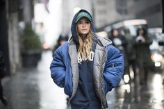 Mira Duma New York Fashion Week Fall Winter 2017 #streetstyle #NYFW #2017