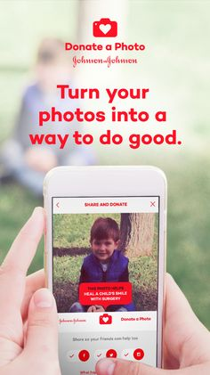 Turn your photos into a way to do good.