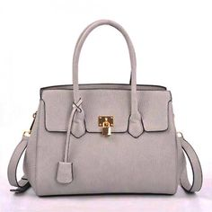 Padlock Soft Leatherette Fashion Bag – Handbag-Addict.com