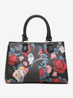 Loungefly Disney Maleficent Roses Tote - BoxLunch ExclusiveLoungefly Disney  Maleficent Roses Tote - BoxLunch Exclusive 57d8baae10a84