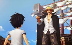 Il nuovo Gamplay di One Piece: Pirates Warriors 3 #onepiece #videogame #shanks
