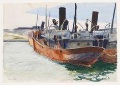 Edward Hopper, Trawlers