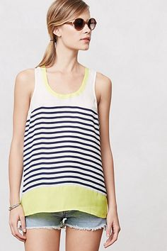 Anthropologie. Striped Persephone Tank