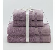 Buy Collection Sparkle Thread 4 Piece Towel Bale - Heather at Argos.co.uk, visit Argos.co.uk to shop online for Limited stock Home and garden, Limited stock clearance