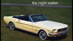 April 17th is Ford Mustang Day! Carl Kolchak: The Night Stalker