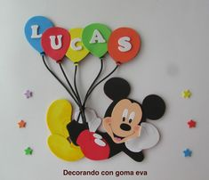 Theme Mickey, Fiesta Mickey Mouse, Mickey Mouse Parties, Minnie Mouse Cake, Mickey Party, Mickey Mouse Clubhouse, Mickey First Birthday, Diy Birthday Banner, Happy Party