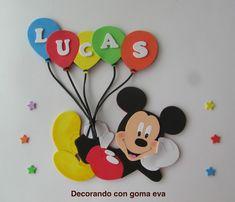 Theme Mickey, Fiesta Mickey Mouse, Mickey Mouse Parties, Mickey Party, Mickey Mouse Clubhouse, Mickey First Birthday, Diy Birthday Banner, Birthday Decorations, 2nd Birthday