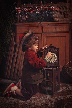 Детские фотопроекты - Волшебное рождество