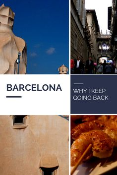 Barcelona is a city I find myself going back to time and time again.  What's your reason for loving BCN?