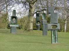 "Barbara Hepworth, Family of Man at YSP really clever as the family  get ""older"" they get more complicated."