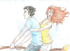 Let's Fly by *burdge-bug :: love this one of Ginny and Harry