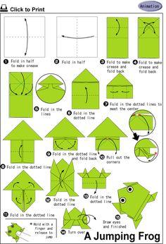 Make a jumping frog!