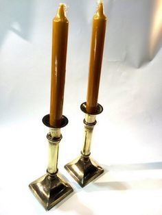 Majestic Giftware CS23520B Candle Sticks 2.5-Inch Silver Plated