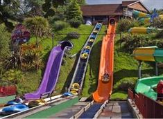 Devon's largest family theme park at Woodlands, Dartmouth, South Devon - a perfect day out for all the family whatever the weather. Camping Holiday, Holiday Park, Woodland Park, Woodland Theme, Visit Devon, Devon Uk, South Devon, Uk Campsites, Family Theme