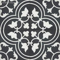 Cement Tile Shop - Handmade Cement Tile | Bouquet I