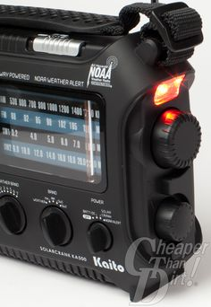 Product Review: Kaito Voyager Emergency Radio