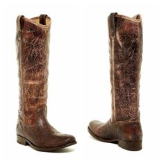 •Frye Mutton Boots• •Simply stunning distressed Frye boots in a beautiful chocolate• Luxurious vintage leather upper is buttery soft• Classic pull-on design with dual pull tabs• Smooth leather lining• Cushioned leather insole provides lasting comfort• Durable leather outsole• Brand new with box, perfect condition• Frye Shoes Heeled Boots