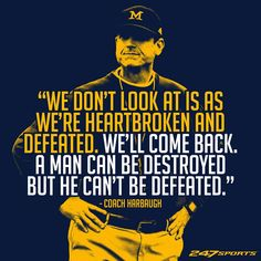 Coach Harbaugh