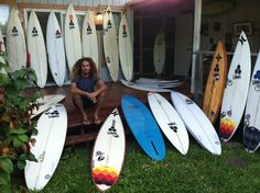 "Rob Machado ""I have to many surfboards"" ... North shore, HI. 2011"