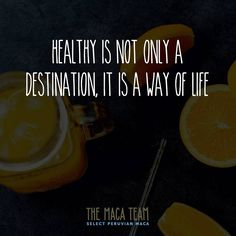 It's all about healthy habits!