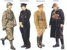 Czechoslovakia - 1940 May, France, Lance-Sergeant, 1st Inf. Regiment, Czech Army Czechoslovakia - 1940 May, France, Staff Captain, Czechoslovak Air Force Czechoslovakia - 1940 Nov., England, General, Czech Minister of Defence Denmark - 1940 Feb., Denmark, Warrant Officer, 7th Inf. Regiment