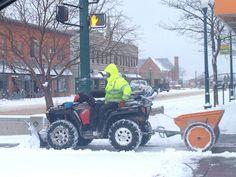 We clear roads, sidewalks, and parking lots in downtown Colorado Springs. #SnowRemoval