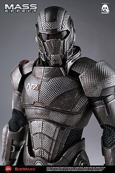 ThreeZero Mass Effect Commander Shepard