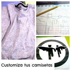 DIY: Customizar camisetas