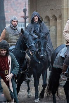 Long wait: The Hollow Crown - which is based on William Shakespeare's history plays - is set to be screened on BBC2 in 2016