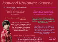 More Howard quotes