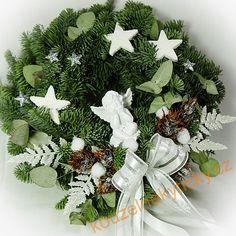 Vánoční věnce a dekorace   Vánoční na dveře - Andělíček   Christmas Wreaths, Holiday Decor, Home Decor, Decoration Home, Room Decor, Home Interior Design, Home Decoration, Interior Design