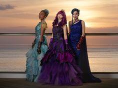 "Royal Cotillion ""Wicked Couture""... Uma, Mal and Evie | Descendants 2 | Disney Channel PR @disneychannelpr"