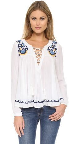 Lovers + Friends Athens Top | SHOPBOP