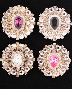 Starburst Magnetic Brooch Perfect For Securing a Wrap Or Accenting A Dress Or Purse