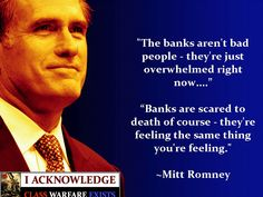 Sigh.  Mittens, banks aren't people any more than corporations are.